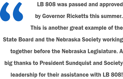 LB 808 was passed quote